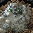 Artichoke Spinach Pasta Sauce - This rich and creamy artichoke and spinach pasta sauce combines Alfredo sauce, mozzarella cheese, Parmesan cheese, and cream cheese. Serve with your favorite pasta.
