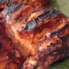 Chef John's Barbecue Chicken  - When it comes to barbecued chicken, everyone wants that nice thick glaze of sauce attached to the skin--but it only takes a minute for a barbecue sauce to go from brick-red to solid black. Get Chef John's tips for perfect BBQ chicken.