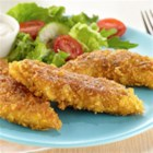 Crunchy Ranch Chicken Tenders - My kids will love these tasty homemade ranch chicken tenders!