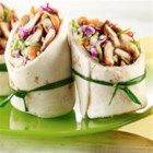 Teriyaki Chicken Wraps - Fast and yummy Chicken Wraps using Teriyaki Sauté Express (R) Sauté Starter.