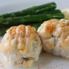 Chef John's Crab-Stuffed Sole - Jazz up your sole with Chef John's recipe for crab-stuffed sole, with a bit of heat from poblano peppers.
