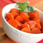 Maple Glazed Carrots - Maple-glazed carrots with a hint of butter are a quick and easy side dish for any occasion.