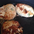 Natasha's Chicken Burgers - These chicken burgers are seasoned with Italian-style bread crumbs, onion, and garlic.