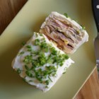 Frosted Sandwich Loaf - This recipe is very versatile as you can use many different fillings, including thin sliced meats, seafood salad--or make up one of your own.