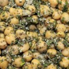 Herbed Chickpea Salad - Chick pea salad made with fresh herbs, lemon juice, and olive oil is a tasty lunch item or side dish for dinner.