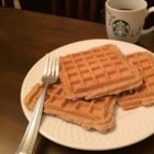 Vegan Waffles - Finally, vegan waffles that everybody enjoys! Made with oats, soy milk, and agave nectar, these waffles are a delight in the morning.