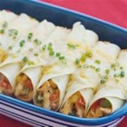 Creamy Chicken Enchiladas - Tasty enchiladas are quick and easy to make, and so creamy.