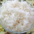 Sweet Coconut Rice - Instead of just water, use some coconut milk and a bit of sugar in preparing your rice for a more-flavorful side dish. Goes great with curry.