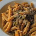 Penne Pasta with Peas and Prosciutto - Inspired by depression-era pasta and peas, Chef John's penne pasta with peas and prosciutto is frugal and delicious!