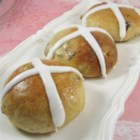 British Hot Cross Buns - A traditional British hot cross bun recipe, light and perfectly seasoned, is adapted for the stand mixer.