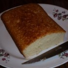 Dee's Hot Milk Sponge Cake - My mother also made this recipe in a long loaf pan which I don't believe they make any more.  Fortunately, I have her pan and whenever I make this it sure brings back such happy memories. Originally submitted to ThanksgivingRecipe.com.