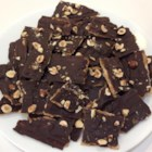 Delicious Matzo Candy - Simple matzo crackers are transformed into a crisp toffee treat when topped with caramel, chocolate, and nuts.
