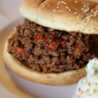 Chef John's Sloppy Joes  - The secret to a great 'Sloppy Joe' is a thick, rich, almost dry consistency, which allows it to be eaten two-fisted, sans fork.