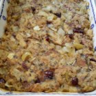 Really Easy Bread Stuffing - Delicious and super simple to make! This is the stuffing to make if you're looking for simplicity in your stuffing.   You can use either fresh or stale bread in this recipe.