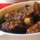 Sherry Braised Beef Short Ribs  - Chef John's sherry-braised beef short ribs are a foolproof and delicious addition to your dinner menu.