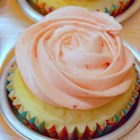All-Natural Pink Frosting! - Decorate your Valentine's day desserts with naturally pink frosting made with pureed strawberries.