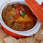 Cheesy Burrito Game Day Dip - Cheesy burrito dip has all the ingredients to fill a burrito in the form of a dip and is a great accompaniment to watching football games.