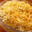 Football Spread - Crumbled and cooked ramen noodles are the base for this interesting, yet tasty dip. With mayo, hot sauce, and shredded chicken, this could be a new party favorite!