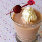 Banana Cherry Smoothie - Bananas and cherries in this delicious yogurt smoothie give you a break from the same old strawberry-banana smoothies.