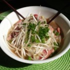 Authentic Pho - The key to the Vietnamese noodle soup pho is in the broth. Beef bones, onions, star anise, ginger, and fish sauce get simmered for 6 to 10 hours to create a rich and flavorful base for this hearty and comforting soup.