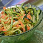 Zucchini and Carrot Coleslaw - Try an easy coleslaw made with zucchini and carrots--it's a fresh way to use up that bumper crop of zucchini.