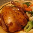 Seasoned Cornish Hens - A marinade of soy sauce, oyster sauce, and garlic keeps Cornish game hens moist and tasty while in the oven!