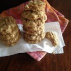 Oatmeal Banana Nut Cookies - An easy, oatmeal-based, drop cookie with the addictive taste of banana nut bread.