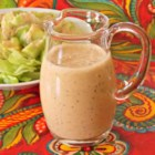 Asian-Inspired Ginger Dressing - This quick and easy, creamy salad dressing was inspired by a house dressing typically found in Asian restaurants.