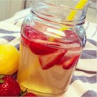 Best Strawberry Lemonade Ever - Strawberry lemonade made with fresh strawberries and homemade simple syrup is a refreshing drink on hot summer days.