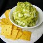 Egg Salad with Avocado - Egg salad made with mashed avocado instead of mayonnaise is a creamy and colorful version of egg salad and can fit into a paleo-type diet.