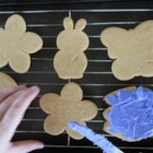 German Cut-Out Cookies - A great cut-out cookie that does not need to be refrigerated before cutting. Cut into shapes to suit any holiday.