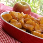 Skillet Apples with Cinnamon - These skillet-fried apples with cinnamon and nutmeg are a great side for breakfast, lunch, or dinner!