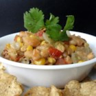 Crock-Pot(R) Chicken Chili - Make this chicken chili in a slow cooker using canned diced tomatoes with green chiles, corn, and white beans.