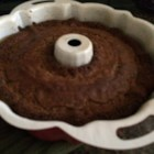 Chocolate Chip Pound Cake - A yellow cake mix with vanilla pudding, grated chocolate and milk chocolate chips baked in.