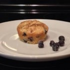 Saskatoon Berry Oat Muffins - Slightly tart saskatoon berries are a nice alternative to blueberries and great in oat muffins.
