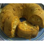 Raw Apple Pound Cake - This is great all the time, but really great for Christmas.  Washington Red Skin Apples work best