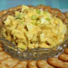 Simple Greek Yogurt Egg Salad - Egg salad made with Greek yogurt and brown sugar instead of mayonnaise is a quick and easy version of the classic egg salad recipe.