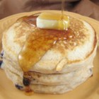 Good, Bad, and Yummy Pancakes - These cinnamon-accented pancakes use a mixture of all-purpose and whole wheat flour.