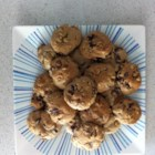 Cake Mix Spice Cookies - Use a box of spice cake mix, eggs, oil, raisins, and walnuts to make these quick and easy cake mix cookies.