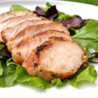 Marinated Turkey Breast - Tasty turkey breasts are rubbed with spices, bathed in a tangy marinade, and tossed on the grill!