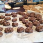 Chocolate Espresso Cookies - Coffee flavored chocolate cookies that have a brownie feel.