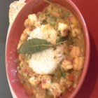 Crawfish Etouffee Georgia Style - Crawfish tails, bell peppers, sweet onion, and smoked salt enhance this richly flavored dish. Serve on hot steamed rice with garlic bread and a green salad. Enjoy!
