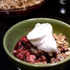 Rhubarb Crisps and Crumbles