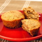 Multigrain Cranberry Pecan Muffins - Sweet dried cranberries, pecans, and prepared multi-grains make moist and delicious muffins for a breakfast on the go or a hearty snack.