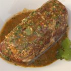Coriander (cilantro) Steak Marinade - This soy sauce-based marinade with garlic, red pepper, and coriander needs one hour to add plenty of flavor to your steaks for grilling.