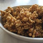 Clone of a Cracker Jack(R) - Make your own delicious homemade Cracker Jack(R) with this recipe for peanutty caramel popcorn.