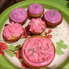 Pink Valentine Frosting - Frosting for Easy Valentine Sandwich Cookies (see recipe).