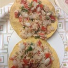 Pico de Tuna - A low budget, low fat, easy and delicious salsa. You can add as many or as little veggies to your taste. This can easily be multiplied. Serve with crackers or tortilla chips.