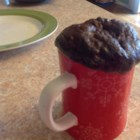 Best Mug Cake (Paleo) - Chocolate cake in a mug can be made to fit the paleo diet thanks to coconut flour and olive oil in the batter.