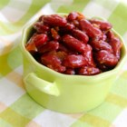 Chuckwagon Beans - This recipe delivers a side dish of beans with hints of sweetness and spiciness.